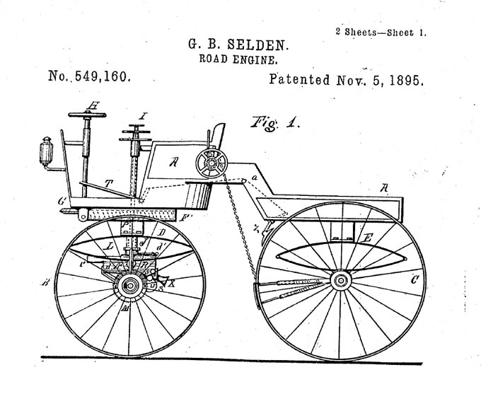 George Selden's patent for the automobile